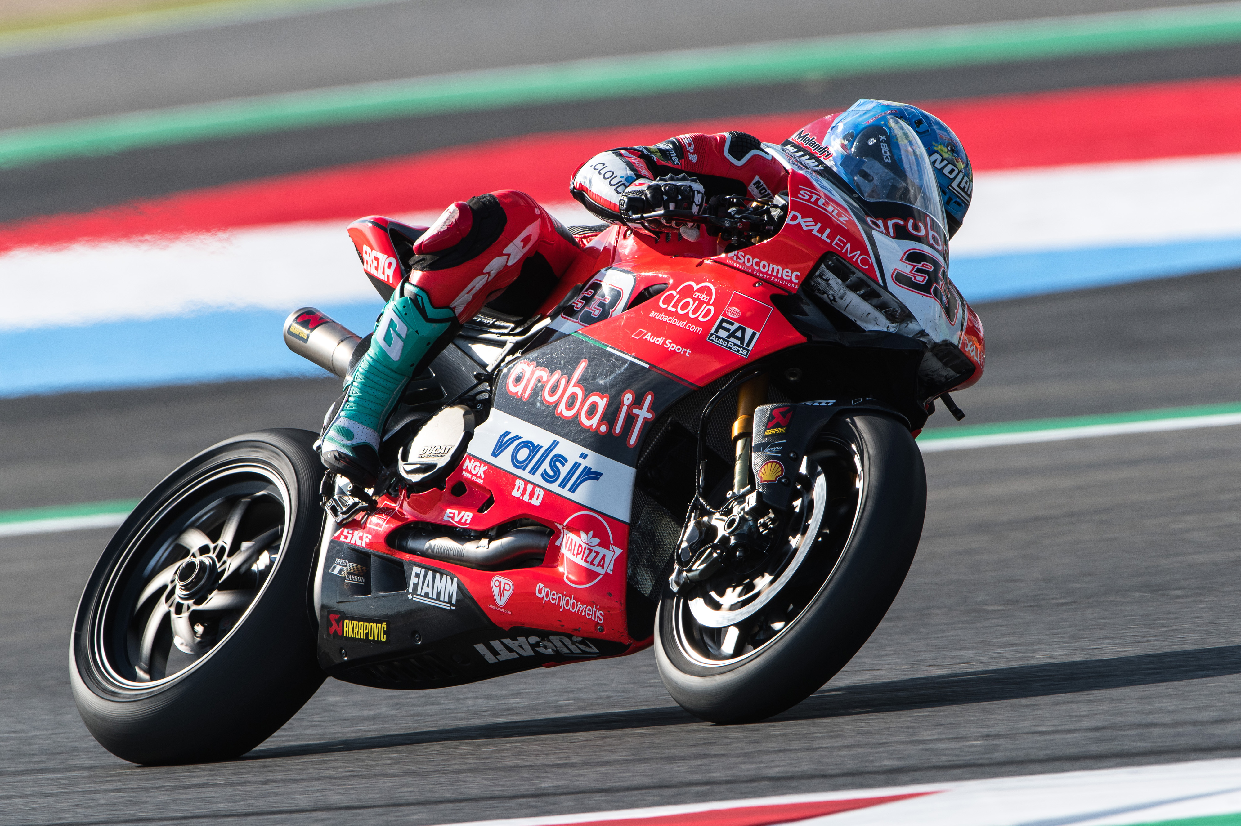 Davies 5th and Melandri 6th in Race 1 at Magny Cours with
