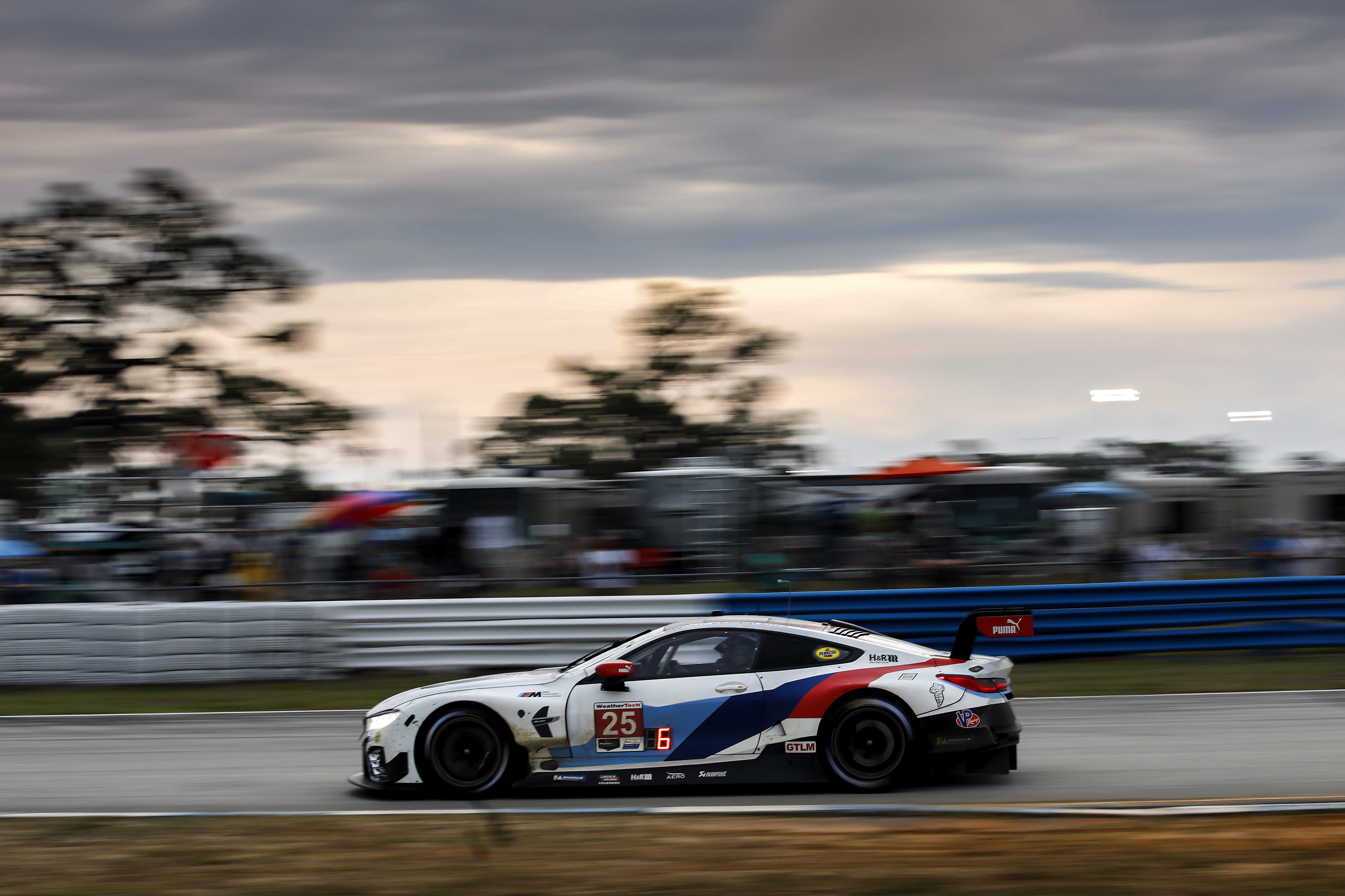 BMW Team RLL comes fourth and seventh in the GTLM class at